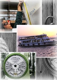 Commercial boat insurance collage
