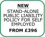 Self-employed Public Liability Insurance